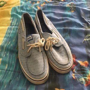 Keds slip on boat shoe